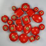 Solid Color Beads Sizes - I